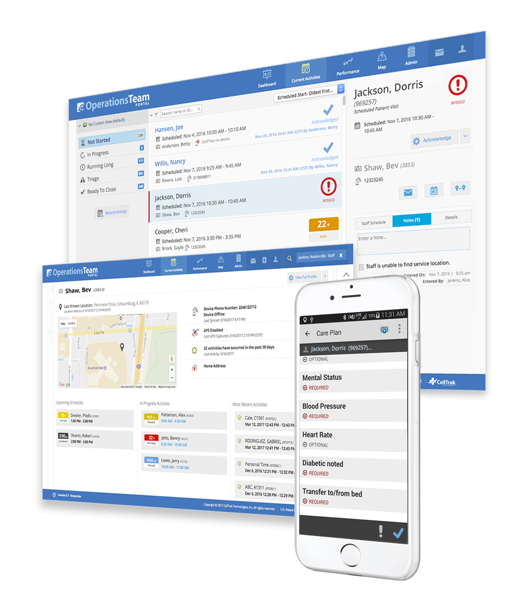 Care delivery management software