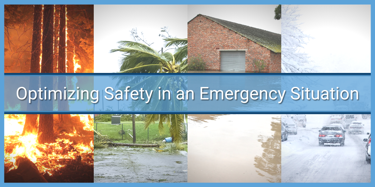 Optimizing Safety in an Emergency Situation